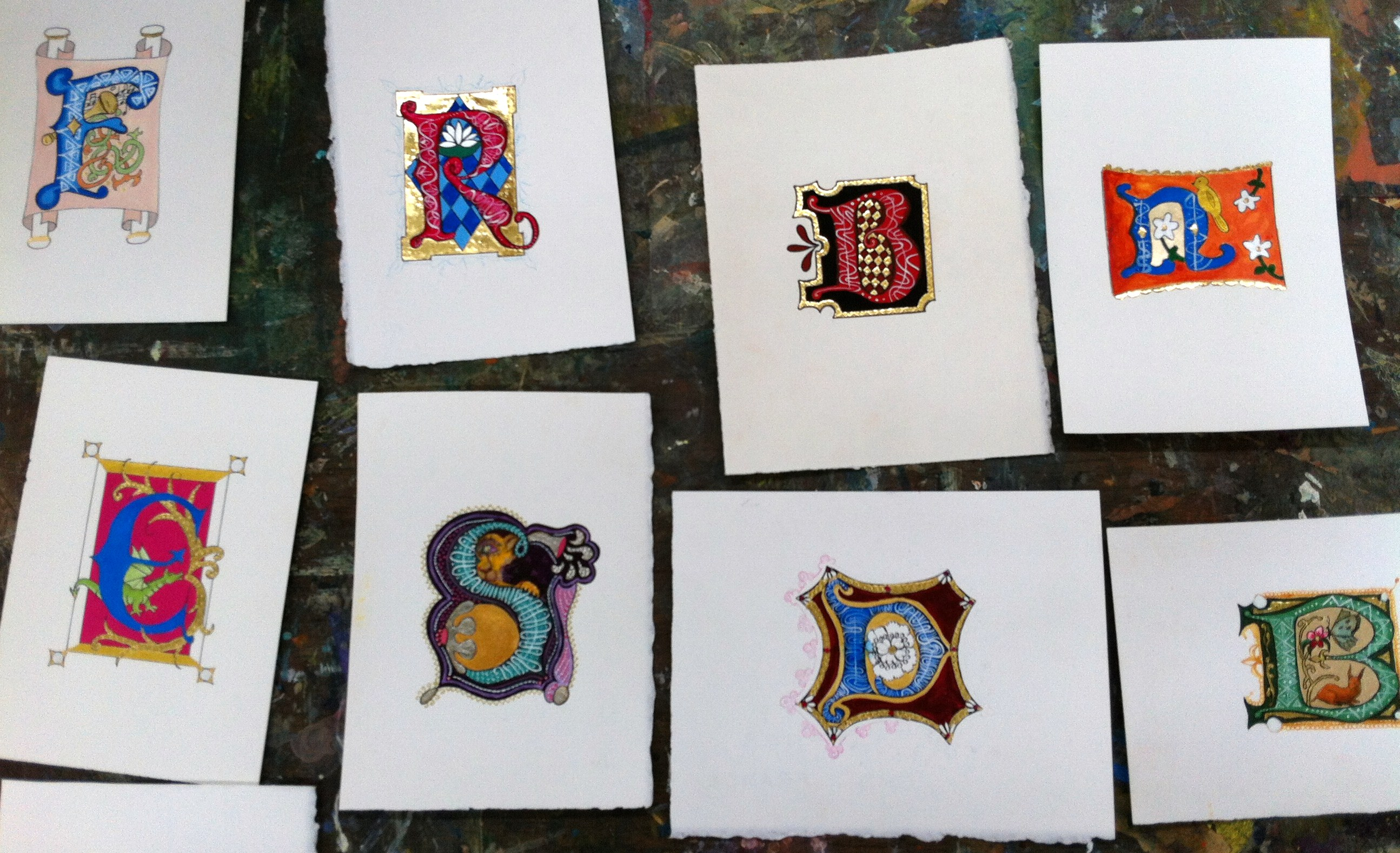 Creative Illuminated Letters